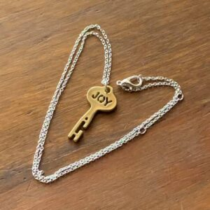 Joy Key Heart Chain