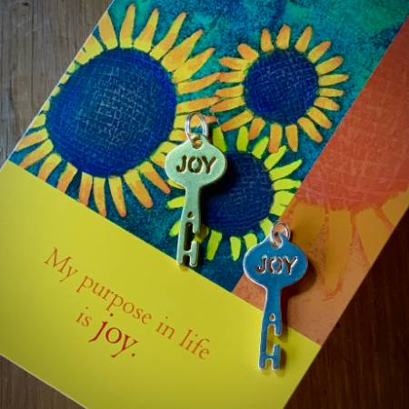 Joy Keys on Card